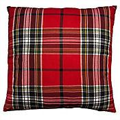 Cojín Decorativo en Tela Telar Escocés 45x45 cm