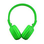 Audífonos Inalámbricos Bluetooth SD Radio FM Verde