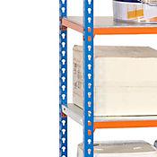 Kit Estantería SimonClick 5/300 Azul/Naranja/Galvanizado
