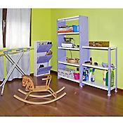 Kit Estantería Homeclassic Plus 3/300 Violeta/Blanco