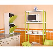 Kit Estantería Homeclassic Plus 4/400 Verde/Blanco