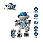 Robi Robot con Control Remoto Interactivo y Programable Plateado TOY-66701