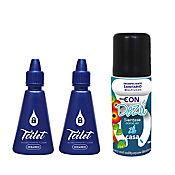 Desinfectante Multiusos Dezú 50 ml + 2 Bloqueador de Olores Toilet 14 ml Océanico