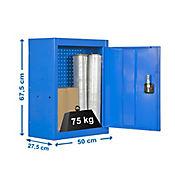Gabinete con Panel 500mm Azul