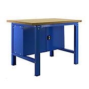 Banco de Trabajo + Almacenamiento Bt6 Plywood Locker 1500 Gris/Mader Carga Máx. 800 Kgs