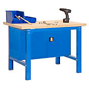 Kit Simonwork Bt6 Plywood Locker 1500 Azul/Madera