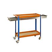 Kit Simonwork Wagon 2/400 Box Chipboard Azu/Nar/Ma