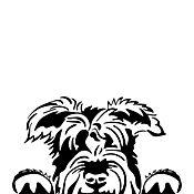 Sticker para Carro - Cara Perro