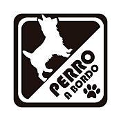 Sticker para Carro - Perro Abordo