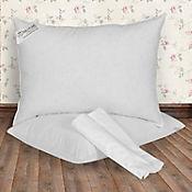 Almohada de Plumas Ultrasuave Grande 90x50 cm Blanco