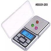 Pesa Bascula Gramera Digital Precisión 500gr X0.1Gr Plata