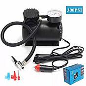 Mini Compresor de Aire para Auto con Manometro 300Psi