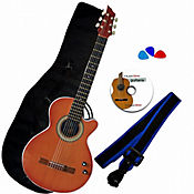 Combo Bucaramanga AU Guitarra ElectroAcústica Natural
