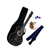 Combo AV Guitarra ElectroAcústica Negro