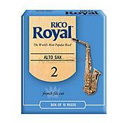 Combo Rico Royal BL Caña Saxofon Alto Eb #2