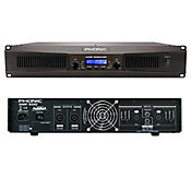 Amplificador Phonic IAMP3020DSP Clase D 3000W