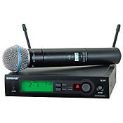 Microfono SLX 24/Beta58 Inalambrico UHF Mano