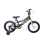 Bicicleta para Niño Tornado Rin 16 Pulgadas Negro-Verde