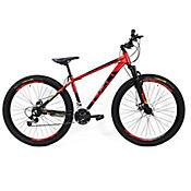 Bicicleta MTB Selva Marco S (16,5) Freno de Disco Rin 27,5 Pulgadas Rojo-Negro