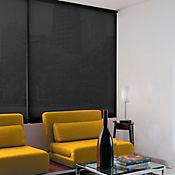 Cortina Enrollable Solar Screen Negro
