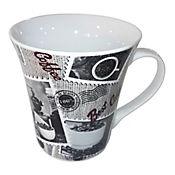 Mug Milk And Sugar 12 Oz Porcelana