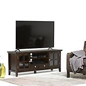 Mesa Acadian para TV de 60 Pulgadas 42x152x61cm Café