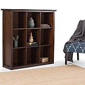 Mueble de Almacenar Artisan 9 Estantes 40x111x121cm Café