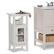 Gabinete para Baño Acadian 1 Puerta 35x38x76cm Blanco