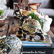 Escultura Elefante Mystical Café 22,4 cm