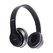 Radio Audífonos Recargables Bluetooth Negro