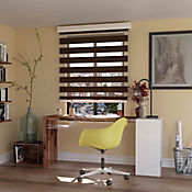 Persiana Sheer Elegance  180x180 cm Cafe Caramelo