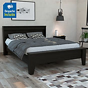 Cama Doble Portanova 96x156x220cm Wengue