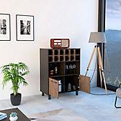 Mueble para Bar Kaia 103x78x40cm Wengue/Miel