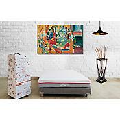 Colchón Semidoble Romance Relax Bibox Espuma 120x190x24cm