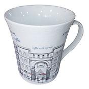 Mug City 12 Oz Porcelana