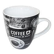 Mug Fresh & Hot # 2 12 Oz Porcelana