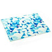 Individual Geométrico Azul 33x45cm