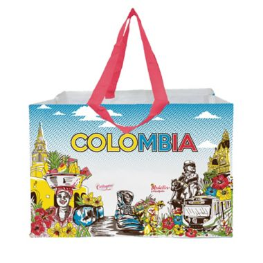 6aa0569dd Bolsa Reutilizable Rafia Pp Laminada - Brand Solutions Ltda - 379636