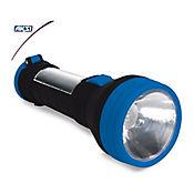 Linterna Recargable Ecológica Con Cargador Solar (700 MAH) Soft Touch
