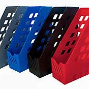 Paquete x3 Revisteros Plásticos Kirox en Colores Surtidos
