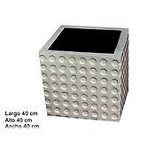Maceta en Concreto 40x40x40 de profundidad estilo Lisa Tianzi