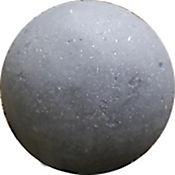 Esfera en Concreto de 15 cms Negro