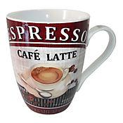 Mug Café Lattee 12 Oz Porcelana