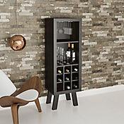Mueble para Bar Barcelona 44,8x135x37,5cm Tabaco