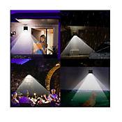 Luz Led Solar para Exterior con Sensor de Movimiento Blanco