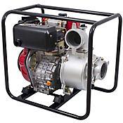 Motobomba Caudal Diesel 1600I/Min 10Hp