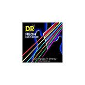Encordado Dr NMCE10 para Guitarra Eléctrica Neón Multicolor