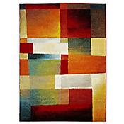 Tapete con Efecto 220x160 cm Multicolor