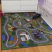 Tapete para Niños Educacional 152x99 cm Multicolor