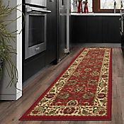 Tapete Diseño Persa 51x150 cm Rojo
